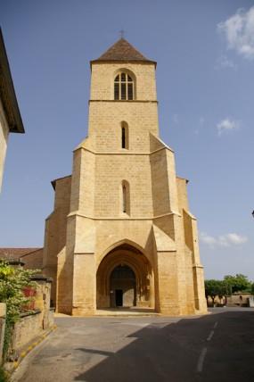 Le clocher de l'église Notre-Dame de l'Assomption