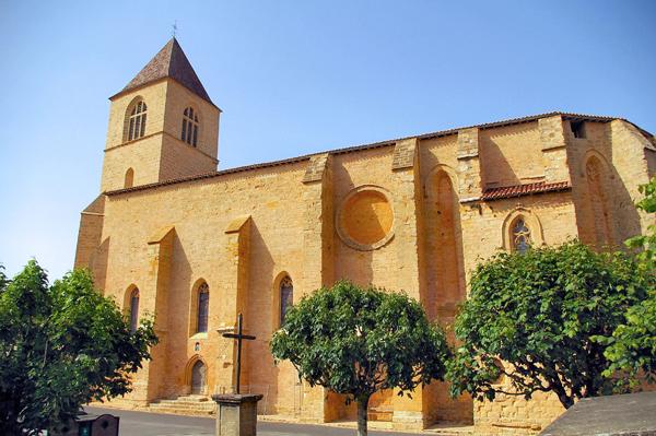 L'église Notre-Dame de l'Assomption de Belvès
