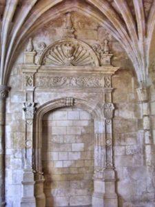 Porte renaissance murée