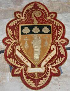 Ecuson Ste Anne de Bretagne coquilles