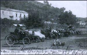 Le parking en 1903
