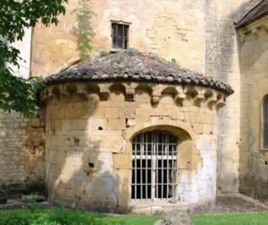L'abside de la sacristie
