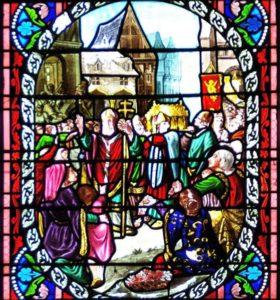 Détail de la procession du St Suaire à Toulouse