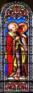 Vitrai abside St Pierre St Jean