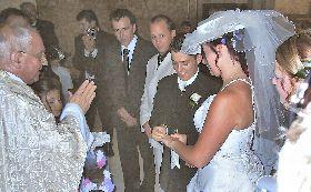 Un mariage à St Vincent de Cosse