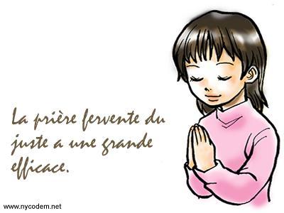 Prier pour dire Merci
