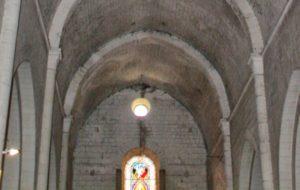 ouverture au dessus du portail ouest