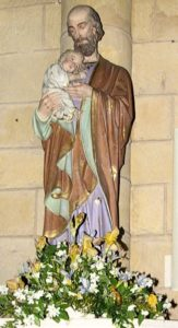 St Joseph et l'enfant
