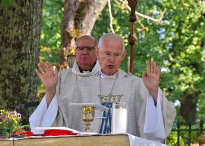 Clôture - la messe