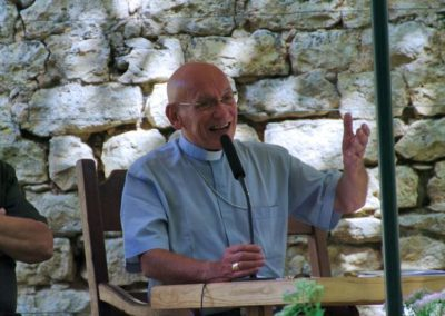 Mgr André MARCEAU très persuasif dans sa conférence