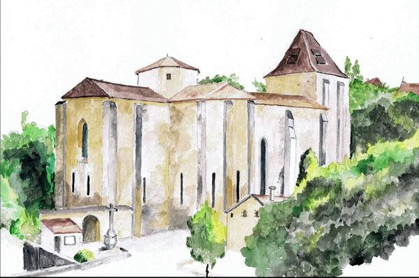 L'abbaye de Paunat