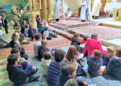 Plus de trente enfants pour cette messe